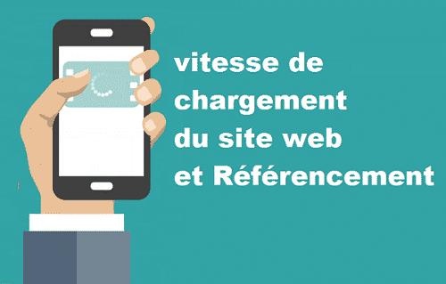 référencement et vitesse de site web