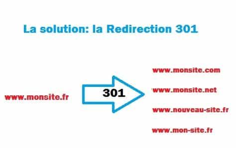 redirection 301 seo